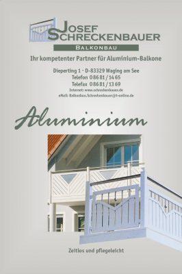 Aluminiumbalkone-katalog