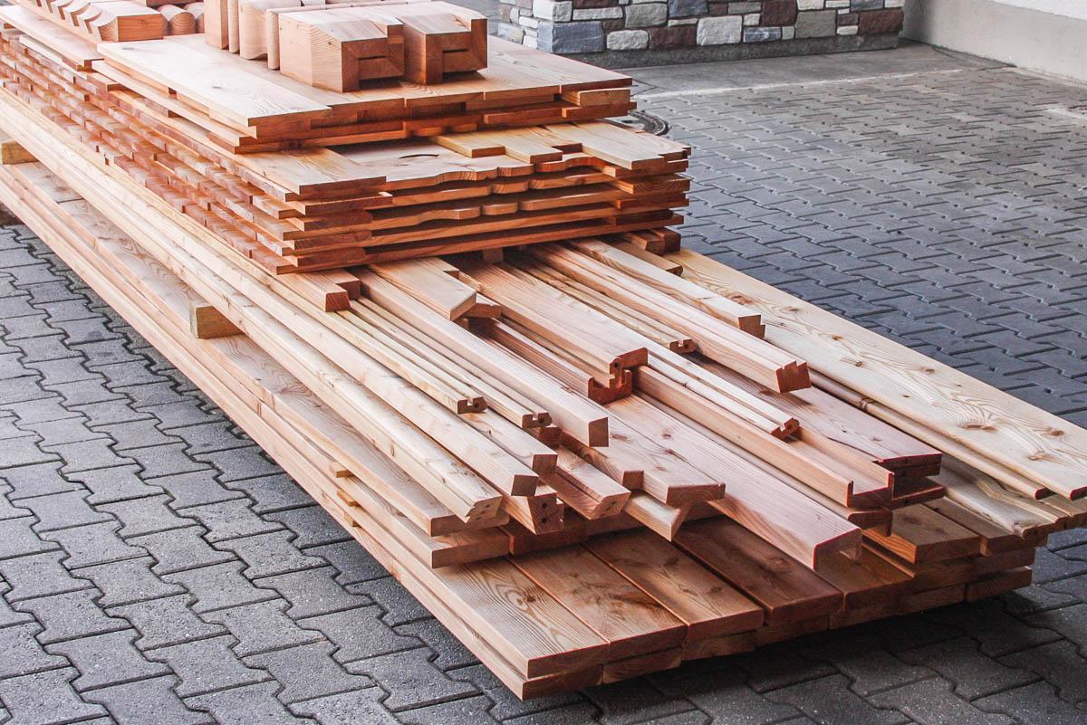 Holzbalkon Bausatz